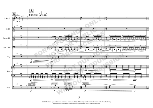 Analepsis, for trumpet and ensemble