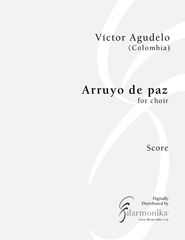 Arrullo de paz, for choir