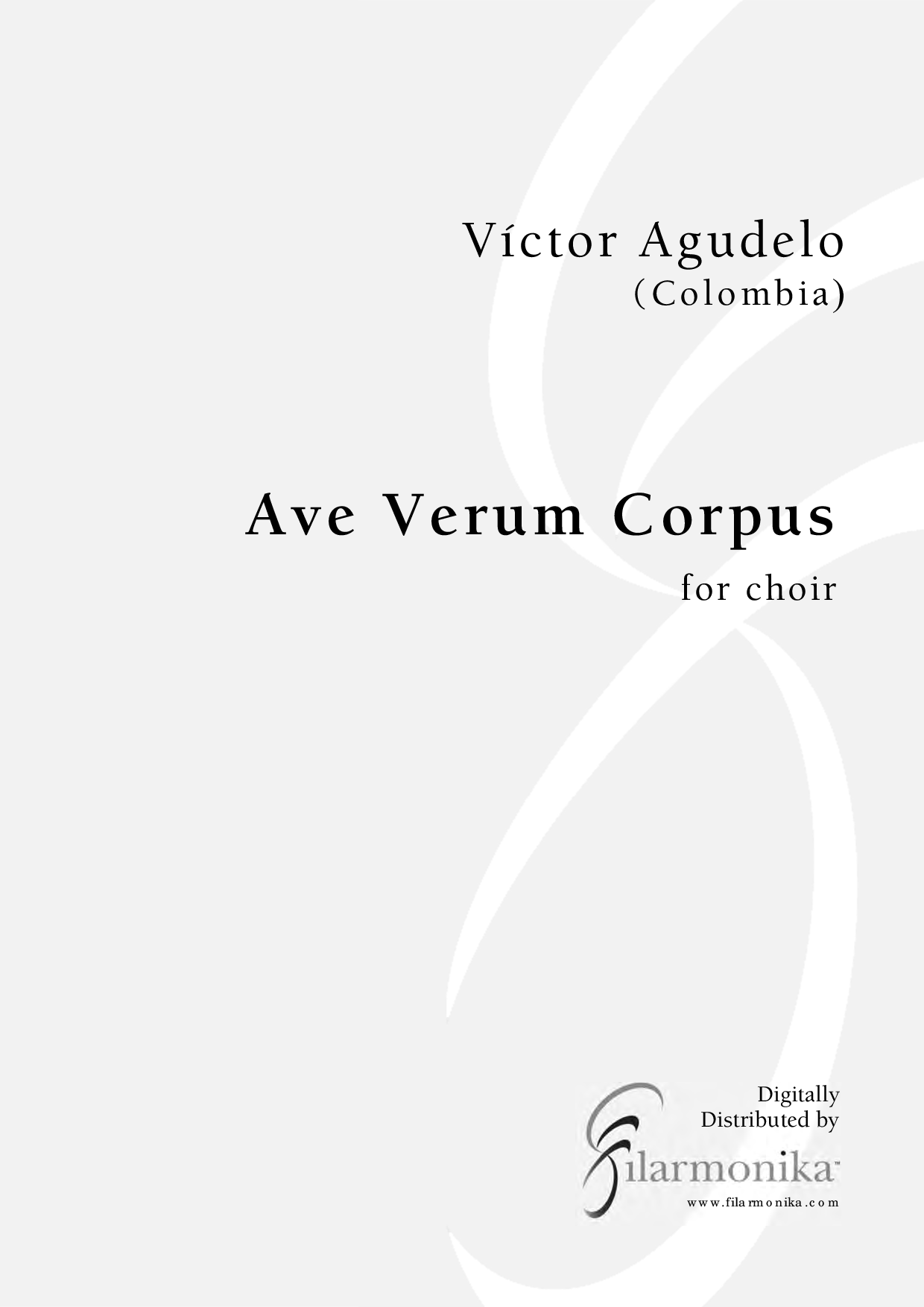 Ave Verum Corpus, for choir