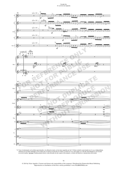 Circular Sur, for piano and orchestra