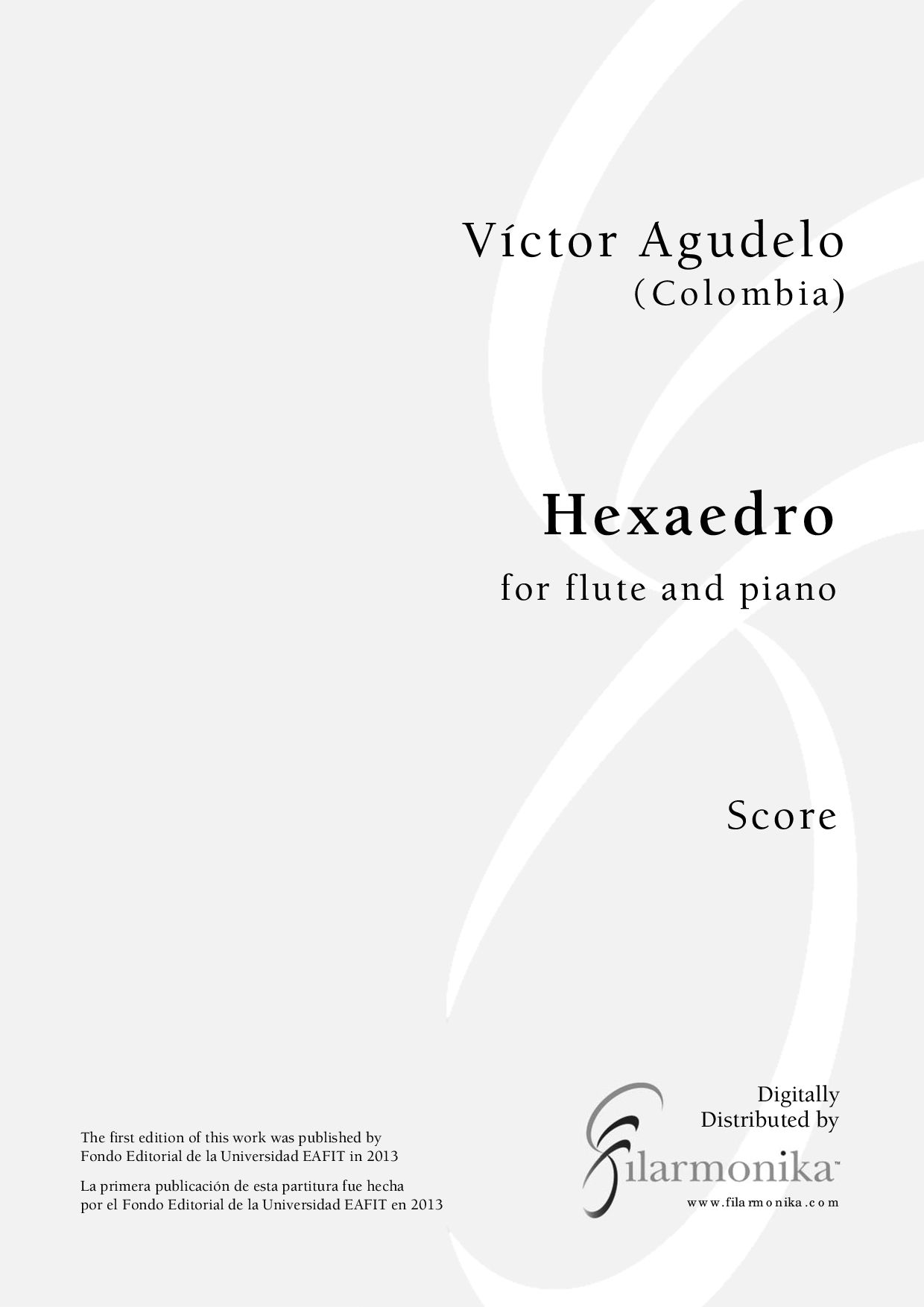 Hexaedro, for flute and piano