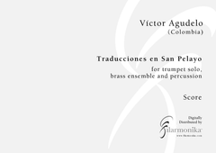 Traducciones en San Pelayo, for trumpet and ensemble
