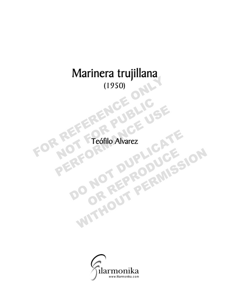 Marinera trujillana