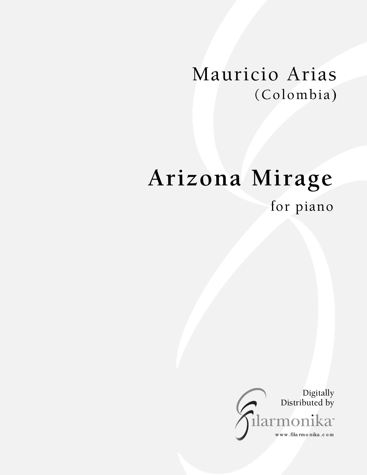 Arizona Mirage, for piano