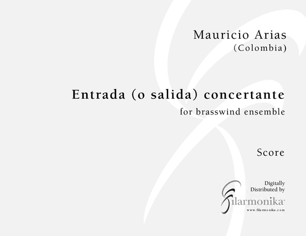 Entrada (o salida) concertante, for brass sextet