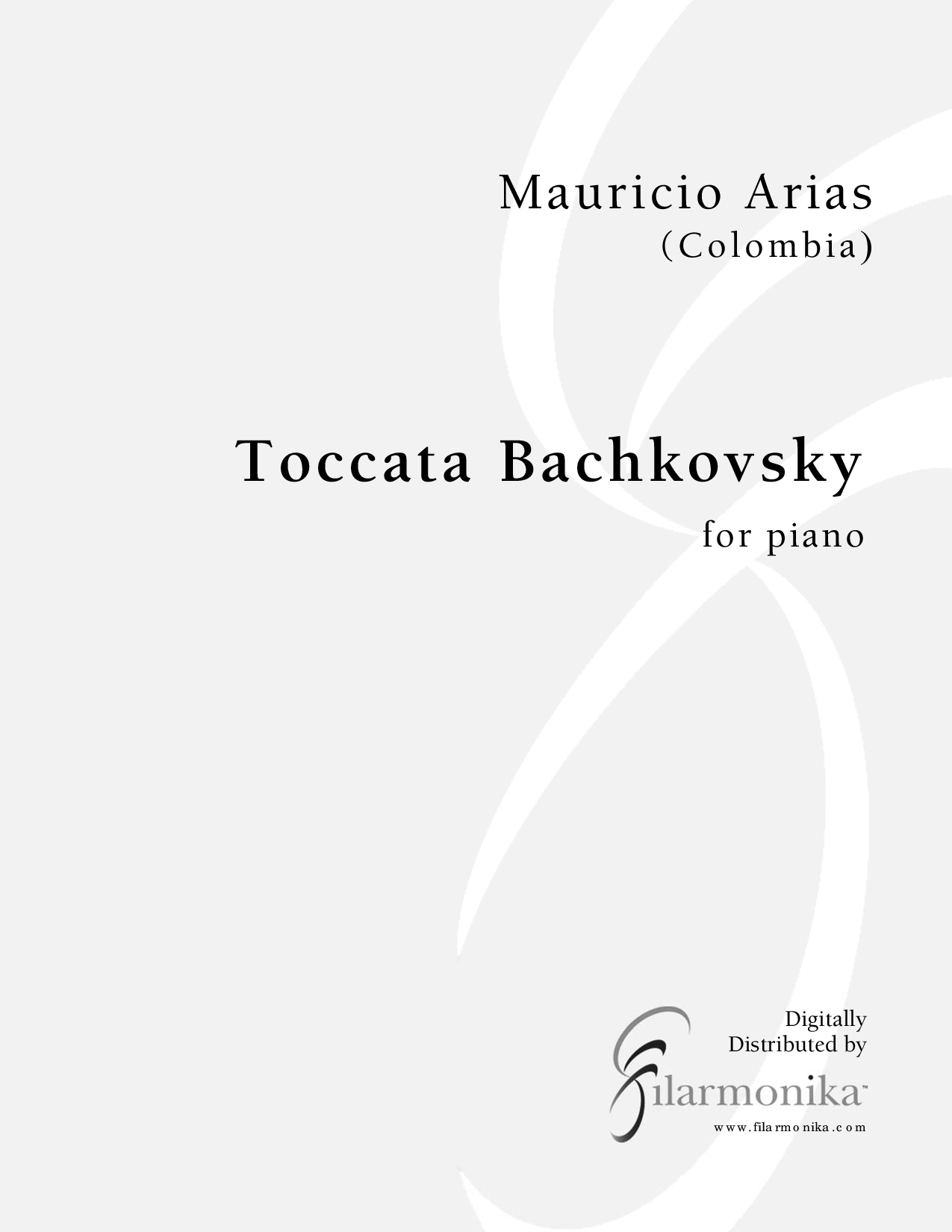 Toccata Bachkovsky, for piano