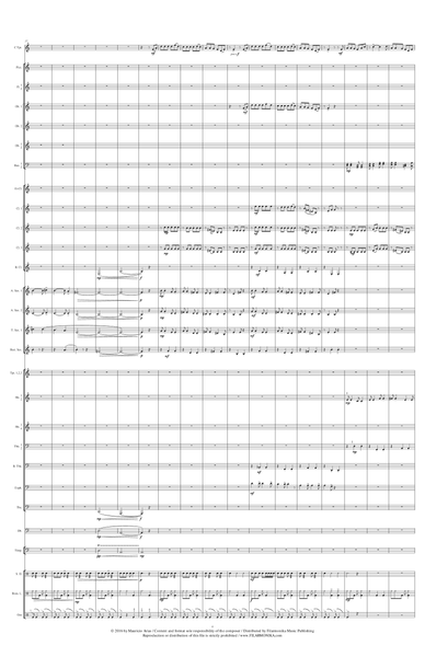 Variaciones fantásticas sobre 'La guaneña', for trumpet and concert band