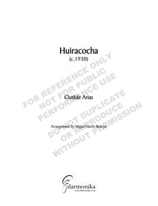 Huiracocha, for voice and orchestra
