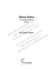 Díptico, for string orchestra