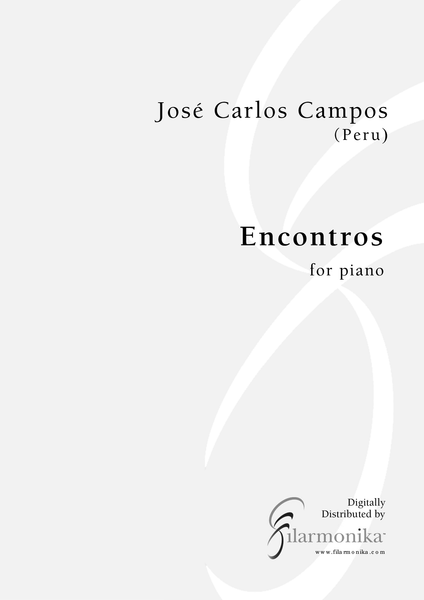 Encontros, for piano