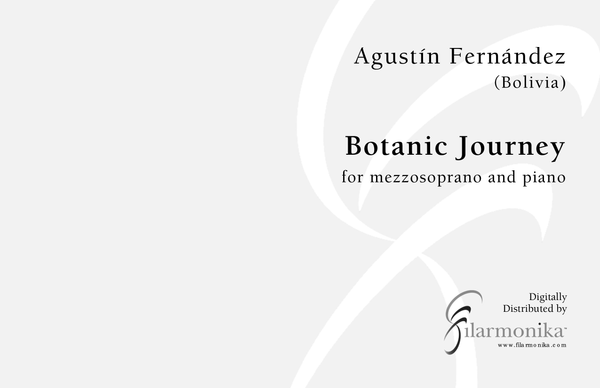 Botanic Journey, for mezzo and piano
