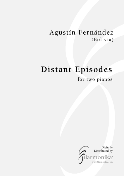 Distant Episodes, for 2 pianos
