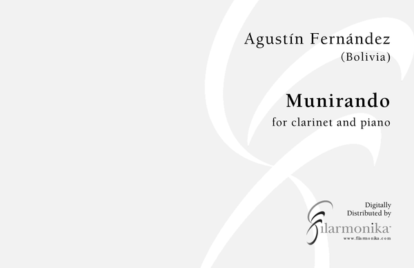 Munirando, for clarinet and piano