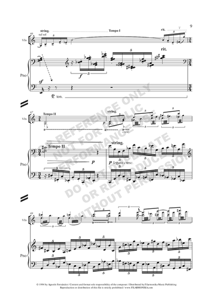 Munirando II, for violin and piano