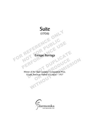 Suite, for orchestra