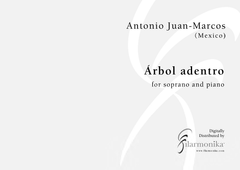 Árbol adentro, for soprano and piano