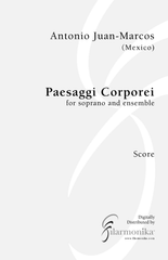 Paesaggi corporei, for soprano and ensemble