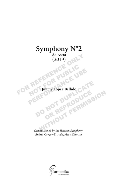 Symphony Nº 2: Ad Astra, for orchestra