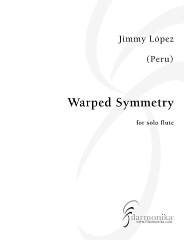 Warped Symmetry, for solo flute