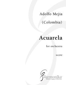 Acuarela, for orchestra