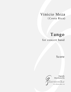 Tango, for concert band