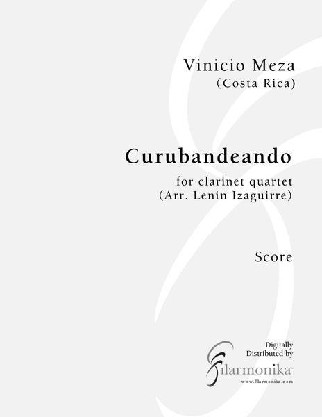 Curubandeando, for clarinet quartet