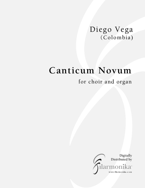 Canticum Novum, for choir and organ