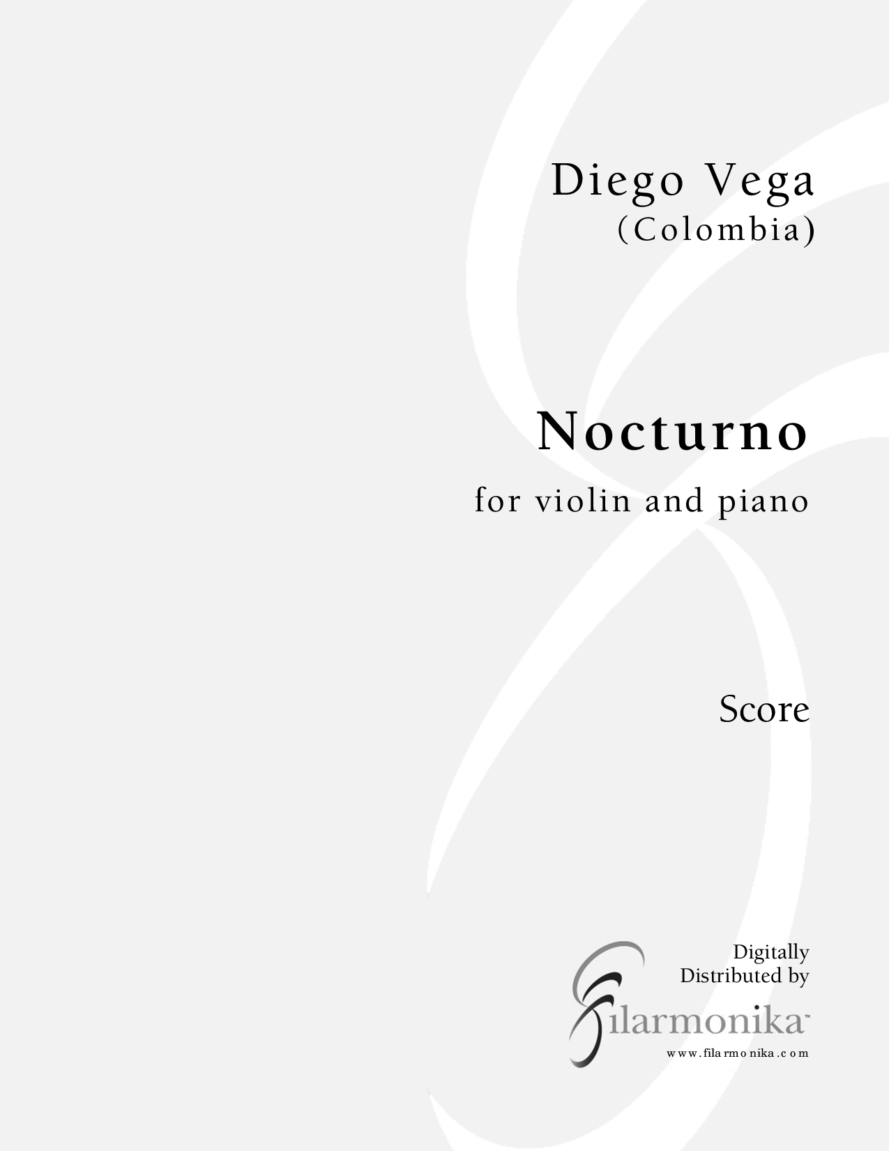 Nocturno, for viola and piano
