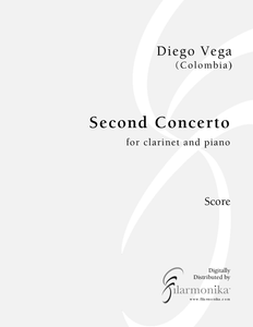 Second Concerto, for clarinet and orchestra