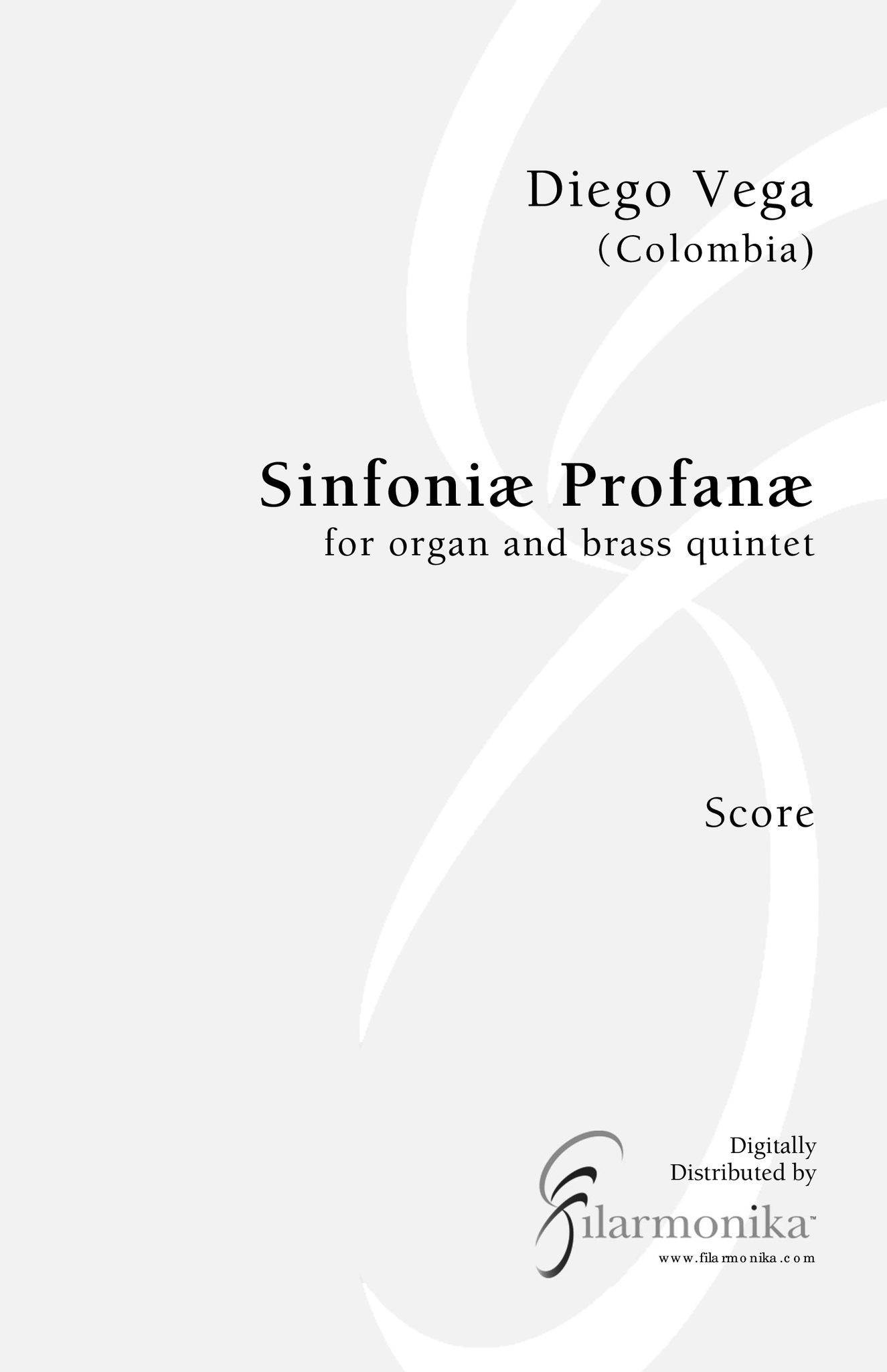 Sinfoniæ Profanæ, for organ and brass quintet