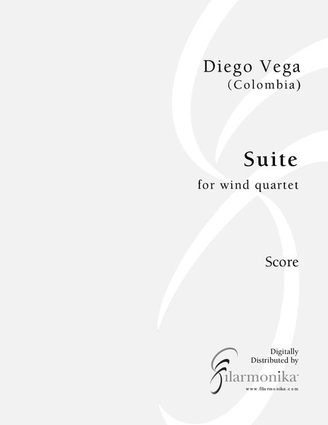 Suite, for wind quartet
