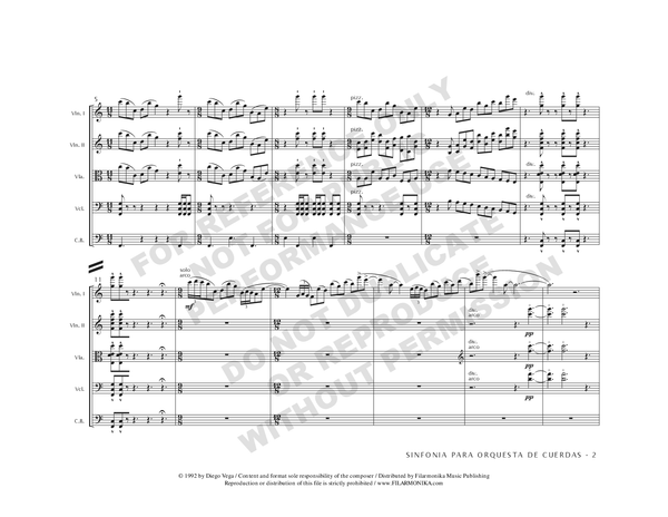 Symphony, for string orchestra