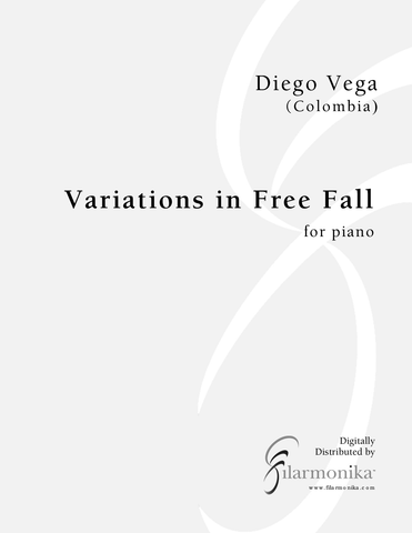 Variations in Free Fall, for piano