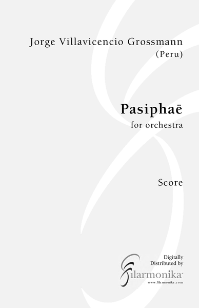 Pasiphaë, for orchestra