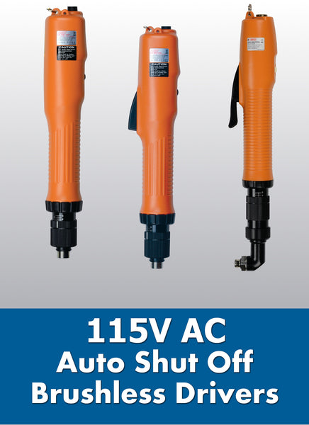 115V AC Electric Torque Screwdrivers