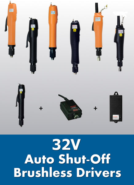 32V Brushless Electric Torque Screwdrivers