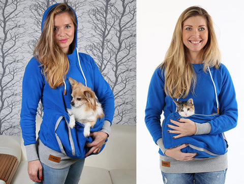 Roodie - Small Dog or Cat - Pet Carry Hoodies
