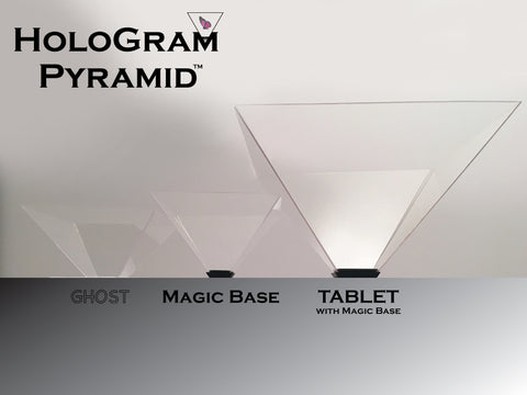 HoloGram Pyramid™ 3D Hologram Projectors