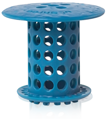 TubShroom® - The Revolutionary Tub Drain Protector Hair Catcher/Strainer/Snare - Blue