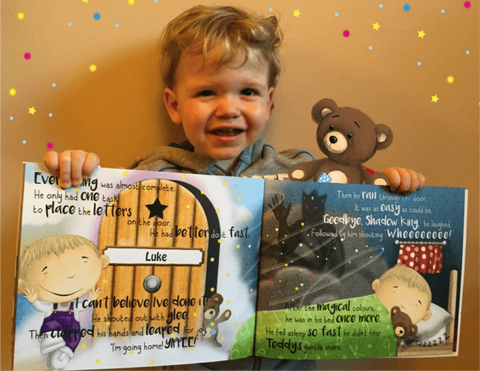 Behind the Magic Door, Personalized Childrens Book