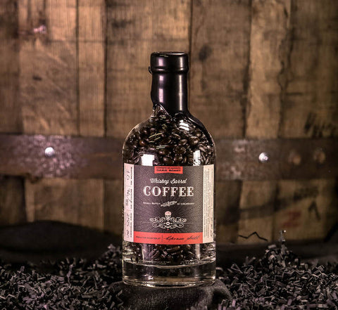 Whiskey Barrel Coffee Dark Roast - Barrel Aged Whole Bean Coffee