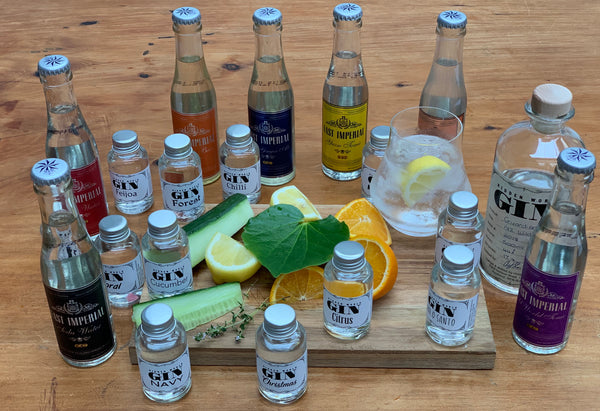 12 Gins Tasting Pack (+ 7 Tonics) - GinZealand