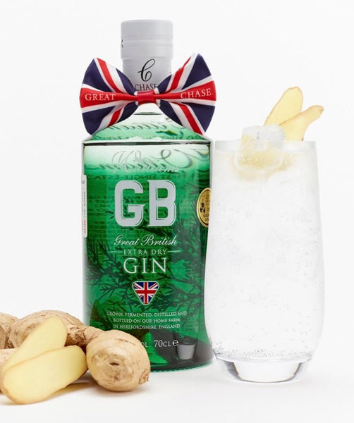 Chase Great British Extra Dry Gin - Tin Gift Box - Craftginconz