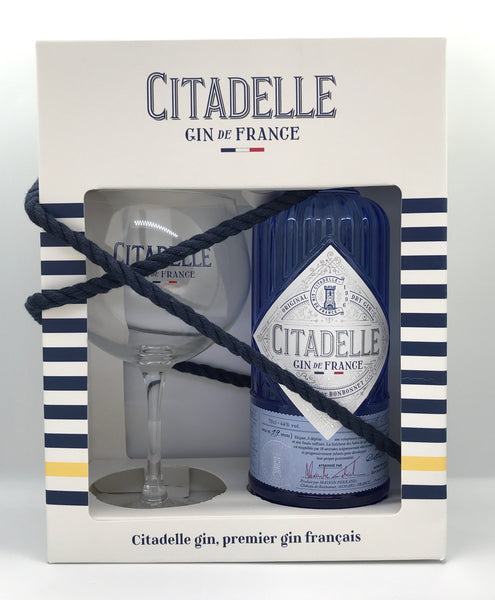 Citadelle & Gin Glass - Craftginconz