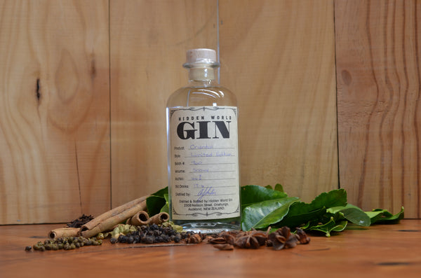 Hidden World Oriental Spice (Sichuan) Gin - LIMITED EDITION - 500ml 44% - GinZealand