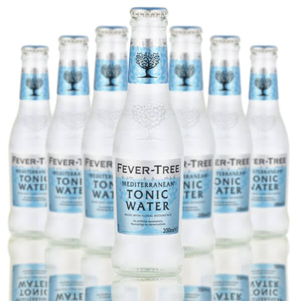 Fever Tree Mediterranean Tonic Water 24 x 200ml bottle case - GinZealand