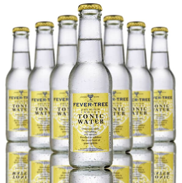 Fever Tree Tonic Water 24 x 200ml bottle case - GinZealand