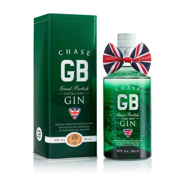 Chase Great British Extra Dry Gin - Tin Gift Box - GinZealand
