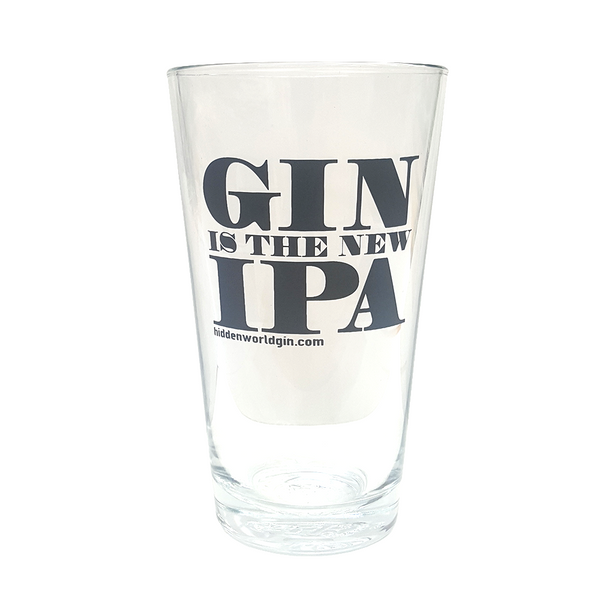 GIN IS THE NEW IPA   Glass 425ml - 2 Pack - Craftginconz