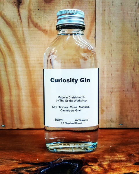 Curiosity Gin 100ml Sample 42%